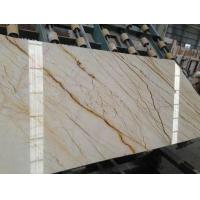China Cream Block Marble Floor And Wall Tile Slab wholesale