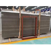 China Coffee Wood Marble Floor And Wall Tile Slab wholesale