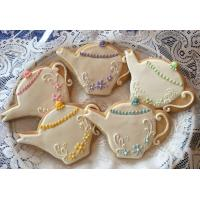 China 24 Mixed Teapot and Tea Cup Cookie Favors wholesale