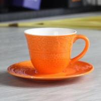China 3OZ flower cup and saucer wholesale