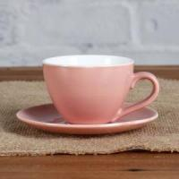 China Red magnesia 3oz cup and saucer wholesale