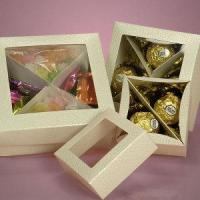 China Square Chocolate Candy Boxes Wholesale Packaging wholesale