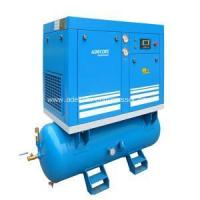 Buy cheap Oil-Lubricated 7HP Receiver Mounted Screw Air Compressor from wholesalers