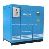 China Oil Free Non-Lubricated 10Bar Screw Air Compressor wholesale