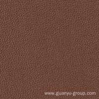 China Brown Leather Look Porcelain Floor / Wall Tile wholesale