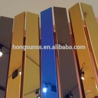 China Color High-Strength Titanium Coated Stainless Steel Metal Plate for Roofing on sale