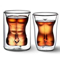 China High quality double wall beer glass cup/beer mug/wine cup on sale