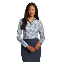 China Red House Ladies Tricolor Check Non-Iron Shirt. RH75 wholesale