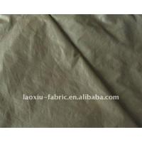 Quality Nylon 210T nylon taffeta PU waterproof textile fabric for sale