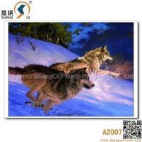 Buy cheap 3D printing 3D Animal Lenticulre Pictures of Sonw Wolfs, A2007 from wholesalers