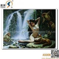 Buy cheap 3D printing 3D Sexy Woman Picture, Three-dimensional Printing, Lenticular Picture, A5006 from wholesalers