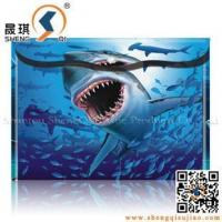 China 3D Stationery 3D Document Bag with Lenticular Effect wholesale