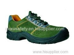 Quality Low Cut Safety Shoes AX03005 suede leather upper safety shoes for sale