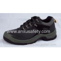 China Low Cut Safety Shoes AX03013 action leather steel toe safety shoes wholesale