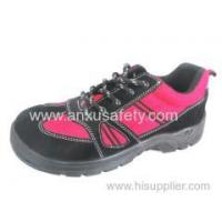 China Low Cut Safety Shoes AX05017 suede leather safety shoes wholesale