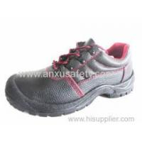 China Low Cut Safety Shoes AX03002B CE leather safety shoes wholesale