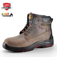China HRO Leather Safety Boots M-8370 wholesale