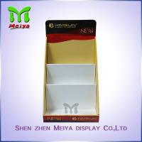 China Full Color Printing Cardboard Display Box , retail counter display for Comic Books and Notebook wholesale