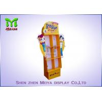 China Lightweight Retail Custom Cardboard Displays For Toys , Easy For Folding wholesale