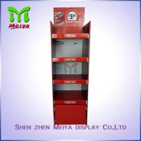 Buy cheap Colorful printing home style POS cardboard displays rack with 4 Tiers from wholesalers