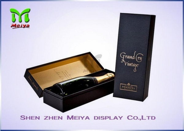 Quality Personalized Custom Wine Gift Boxes Packaging With Logo Printed for sale