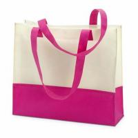 Hot sale custom pp handle nonwoven shopping bag