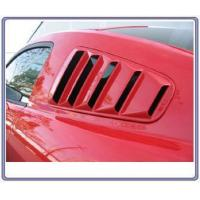 China 05-09 Mustang SALE Upper Louvers ABS PLASTIC (PAIR) (OPEN LOUVER 5 SLOT) on sale