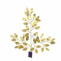 Buy cheap YSL0073A 3 branches of golden banyan leaves without printing from wholesalers