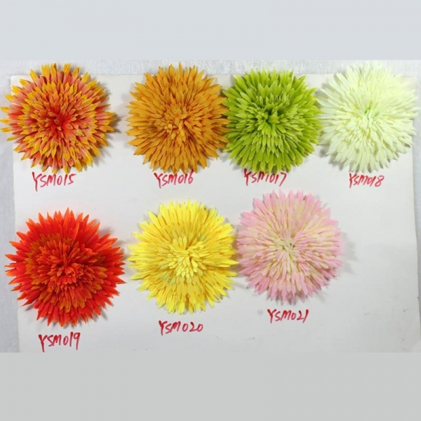 Quality YSH Chrysanthemum head color swatch for sale