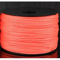 China Fluorecent Polypropylene braided building line wholesale