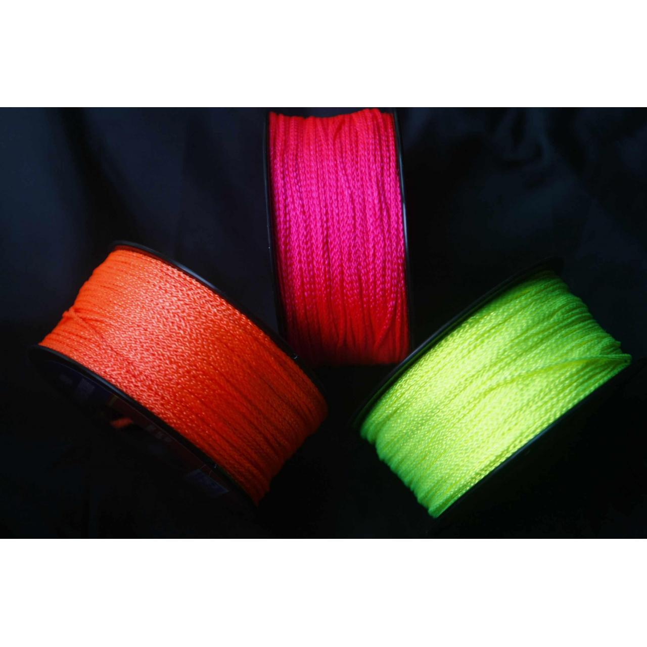 China Fluorecent nylon braided building line wholesale