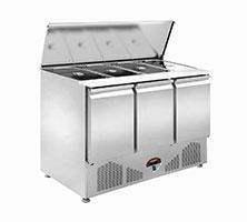 Quality Luxury bottom mounted salad (large stainless steel cover) _SSL-3D-HZC-US2 for sale