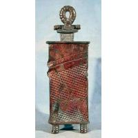 Buy cheap Lemke Pottery Raku 12 Inch Abstract Box with Lid from wholesalers