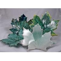 China Clay'n Karen Pottery - Leaf-Shaped Porcelain Spoon Rest wholesale