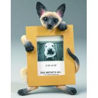 China Cat Picture Frame - Siamese, Small wholesale
