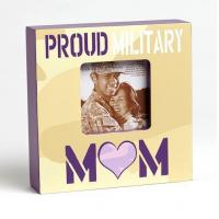 Buy cheap Proud Military Mom Photo Frame from wholesalers