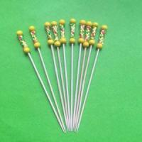 Buy cheap Decorative glitter floral picks, fruit pick skewer stick, decorative artificial bamboo sticks from wholesalers