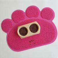 Buy cheap paw shaped pet pad pvc pet feeding mat pet food mat for small animals from wholesalers