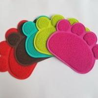 China Non-Toxic Soft Easy To Clean Kitty litter trapper mat cat toilet mat pet supplies wholesale