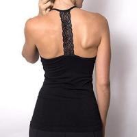 Buy cheap OEM Factory China Thin Back T Strap Lace Camisole Tops For Women from wholesalers