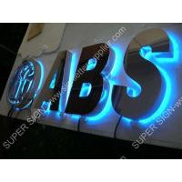 Buy cheap Backlit LED sign letters 01 from wholesalers