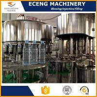 Buy cheap Mineral Water/pure Water/juice/carbonated Drink PET Bottle Washing Filling and Capping Machine from wholesalers