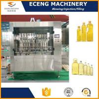 Buy cheap Cooking Oil Ediable Oil Bottle Filling Machine Plant Line from wholesalers