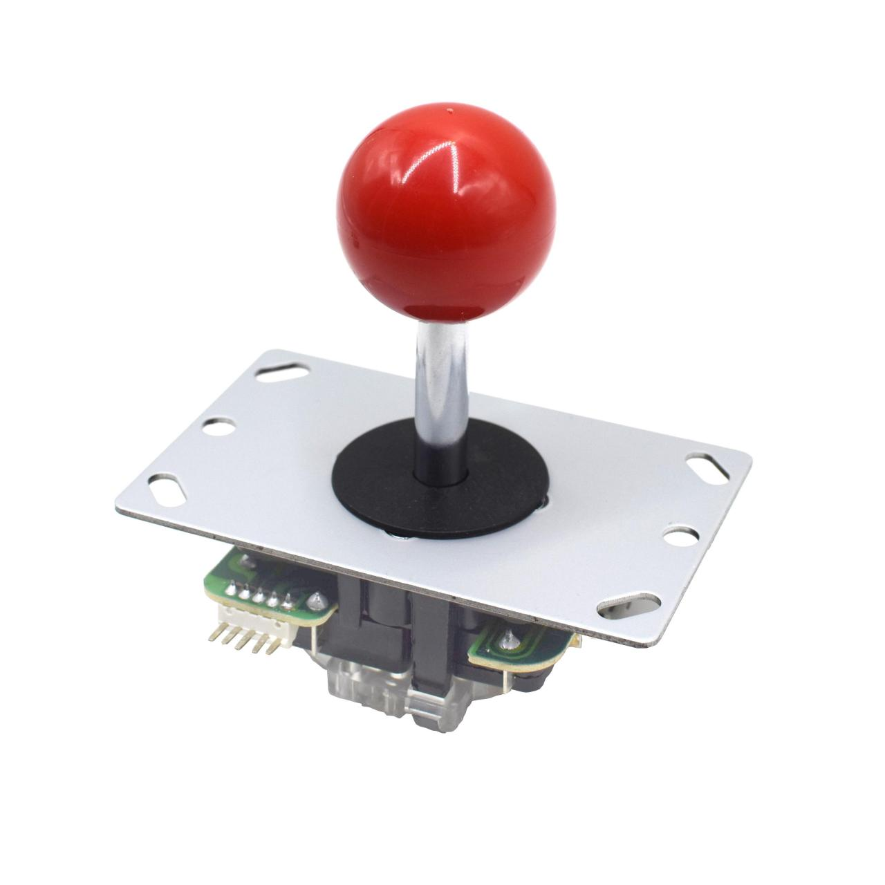 Buy cheap Red Ball 5 Pin Micro Switches 8 Way Arcade Joystick Replacement from wholesalers