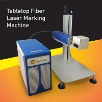Buy cheap 20W Fiber Laser Marking Machine For Metal etching marking and parts engraving from wholesalers
