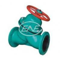 Buy cheap Diaphragm Valve Y-type Manual Rubber Lined Diaphragm Valve from wholesalers