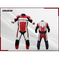 China One Piece Real Cow Leather Custom Motorcycle Leather Racing Suit RB-R04001 on sale