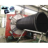 Buy cheap HDPE Rib Reinforced Corrugated Spiral Pipe production line from wholesalers