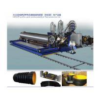 Buy cheap HDPE Winding Reinforced Krah Pipe Production Line from wholesalers