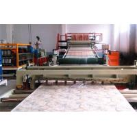 Buy cheap PVC Artificial marble sheet Production line. from wholesalers